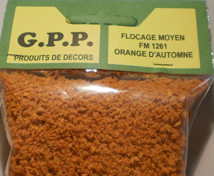 flocage mousse  200 ml  orange  automne - G.p.p.