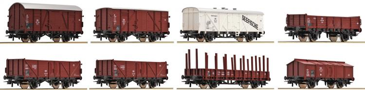 DB coffret de 8 wagons  ep III -