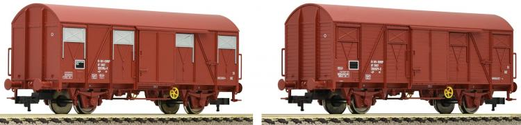 SNCF  2 wagons-couverts  ep IV -