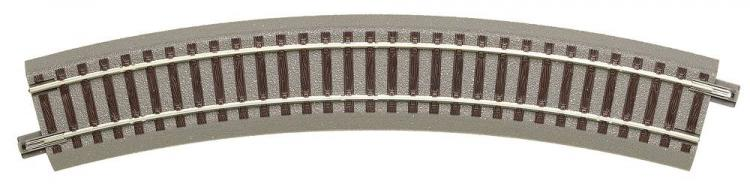GeoLine rail courbe R3   rayon  434.5 mm   / 30 ° - Roco-accessoires