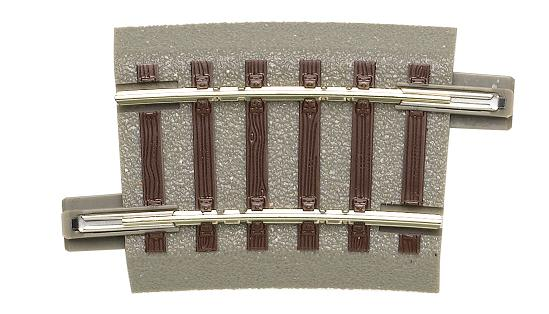 GeoLine rail courbe R2  rayon 358 mm  7.50 ° - Roco-accessoires