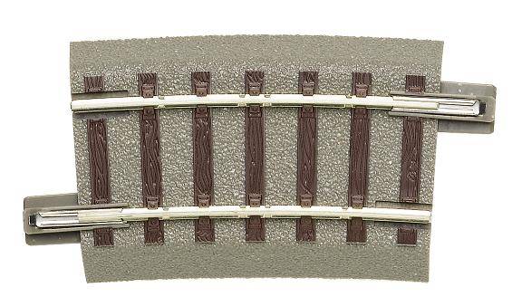 GeoLine rail courbe R3  rayon 434.5 mm  7.50 ° - Roco-accessoires